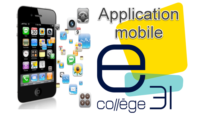 Application mobile eCollege 31