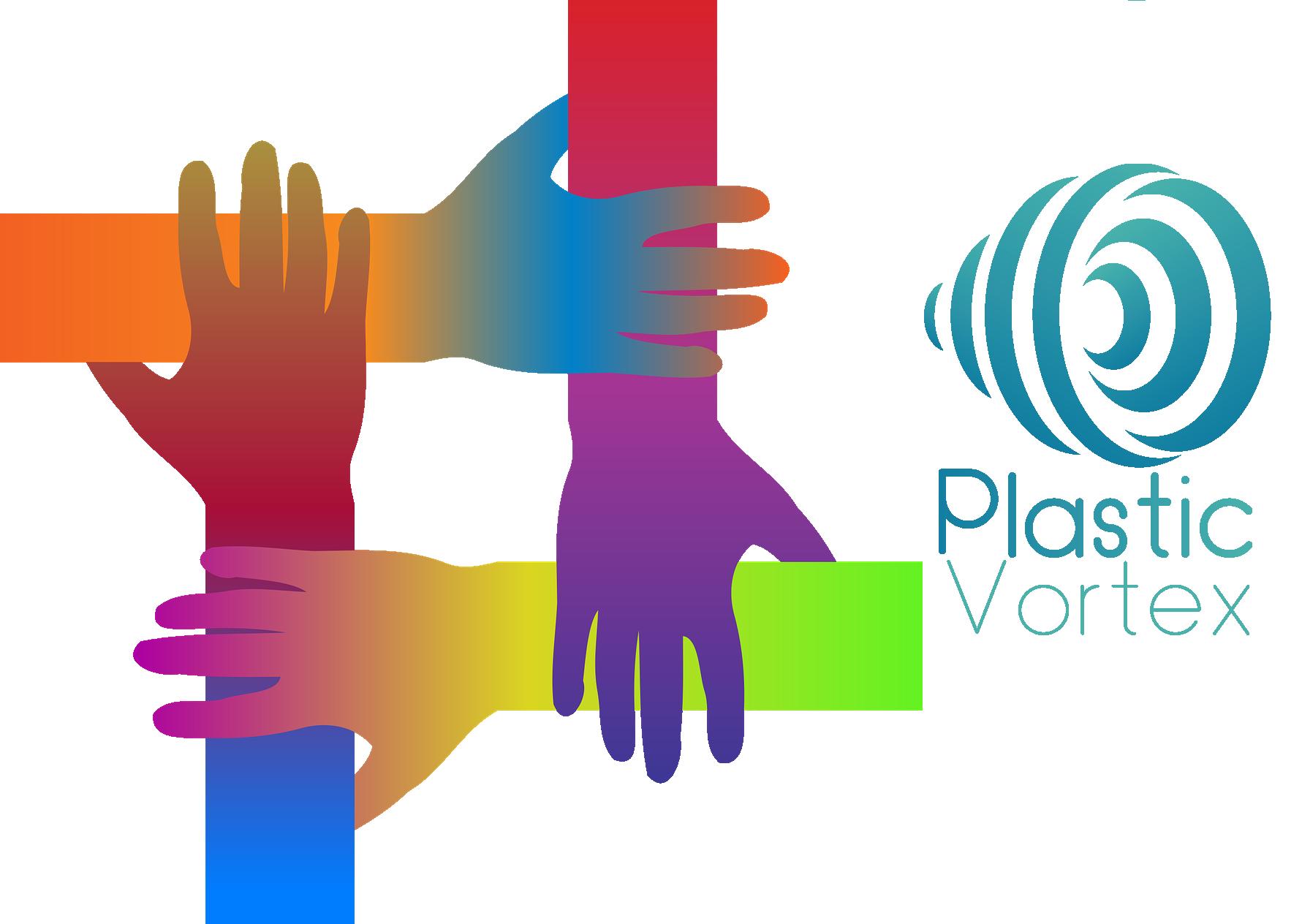 plastic vortex