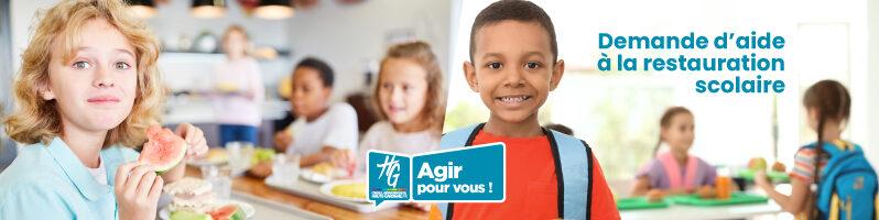 Aide à la restauration scolaire - 2020-2021